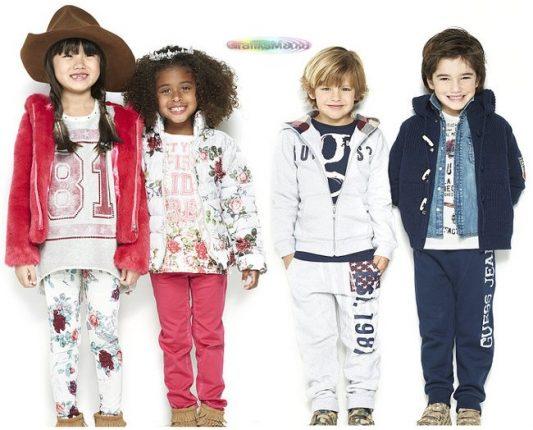 buy online 7ef43 e8ed1 Guess bambini abbigliamento autunno inverno 2017 - Moda ...