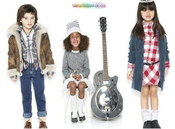 buy online f4cc9 31e59 Guess bambini abbigliamento autunno inverno 2017 - Moda ...