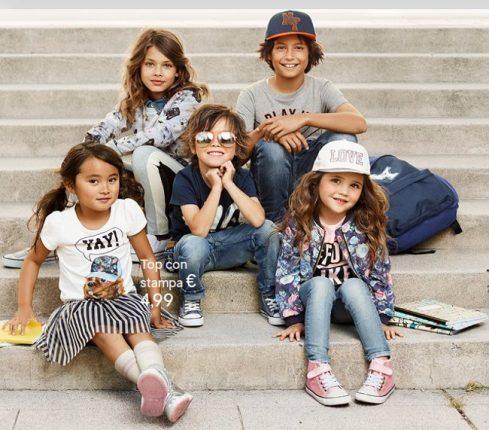 HM bambini abbigliamento autunno inverno 2014 2015