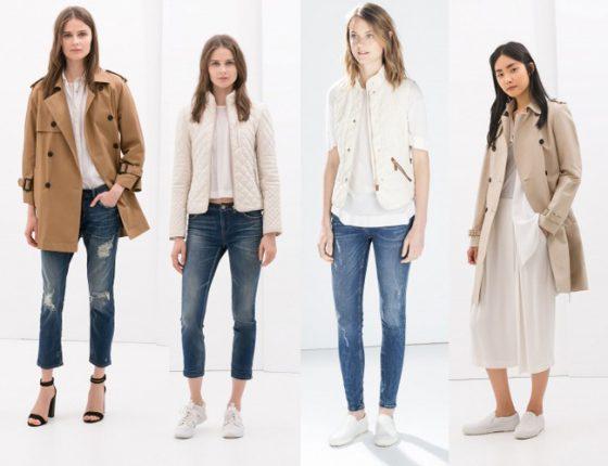 Look  Zara autunno inverno 2014 2015
