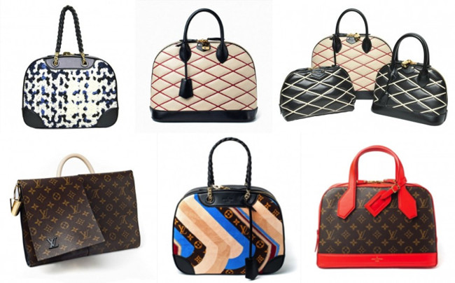 Louis Vuitton Bowling bag autunno inverno 2014 2015