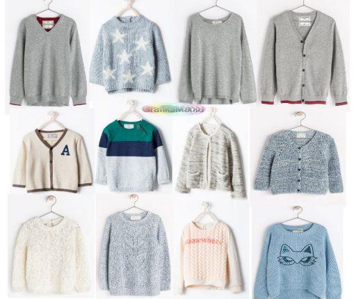 Maglioni e cardigan Zara bambini  2014 2015