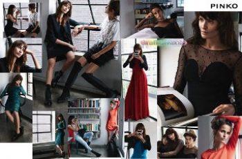 Pinko abbigliamento autunno inverno 2014 2015