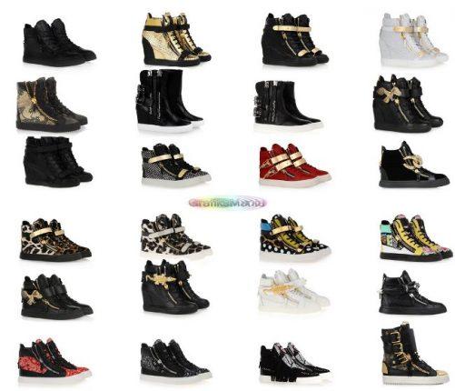 Sneakers donna Giuseppe Zanotti scarpe 2014 2015