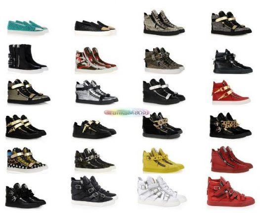 Sneakers uomo Giuseppe Zanotti scarpe 2014 2015