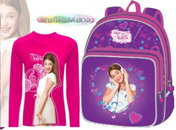 Violetta disney abbigliamento bambini e zaini scuola
