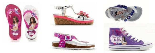 Violetta disney scarpe
