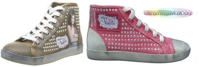 Violetta disney sneakers bambini