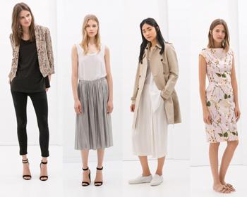 Zara autunno inverno 2014 2015 abbigliamento donna