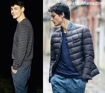 Benetton autunno inverno 2014 2015 abbigliamento uomo