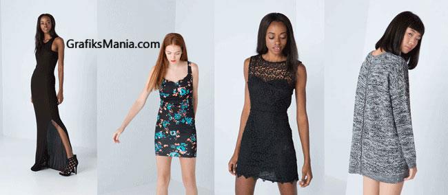 Collezione Bershka abbigliamento donna  2014 2015