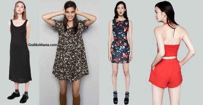 Collezione PullBear abbigliamento donna 2014 2015
