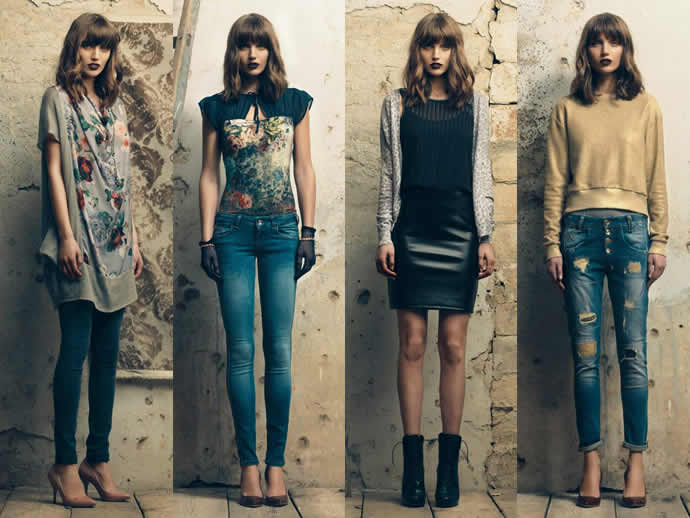 Fornarina abbigliamento autunno inverno 2014 2015