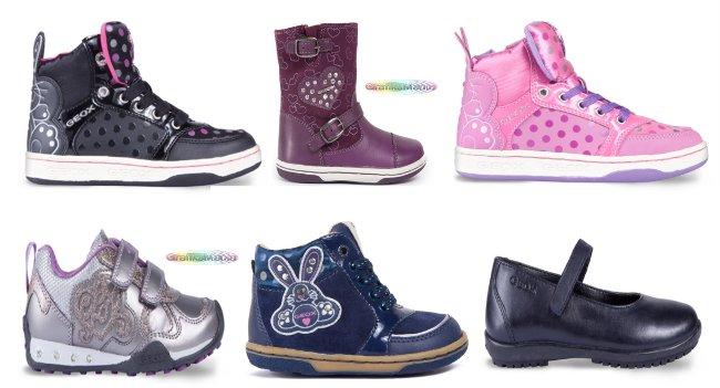 Geox scarpe bambina autunno inverno