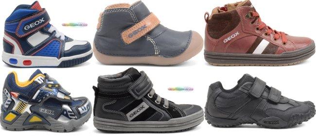 Geox scarpe bambino autunno inverno