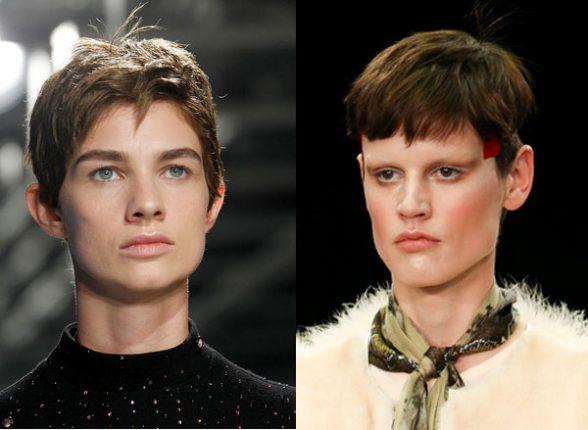 Tagli di capelli in stile maschile autunno inverno 2014 2015