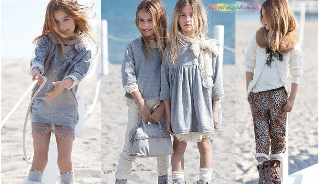 Twin Set Girl catalogo autunno inverno 2014 2015