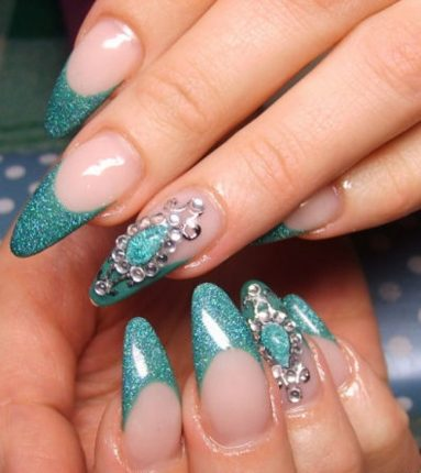manicure e nail art decorazioni unghie autunno inverno