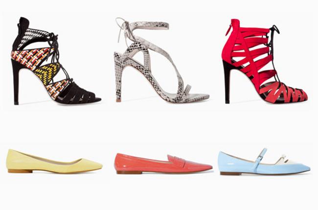 Zara scarpe autunno inverno 2014 2015 donna