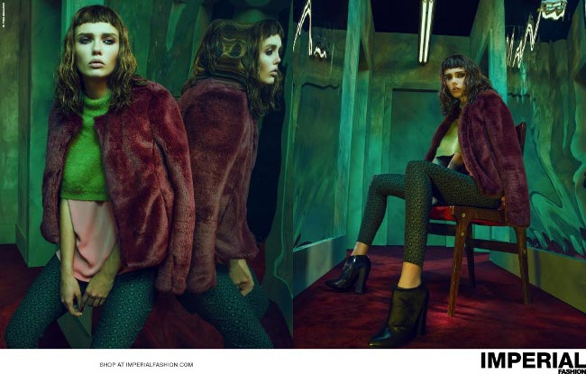 Imperial abbigliamento autunno inverno 2014 2015