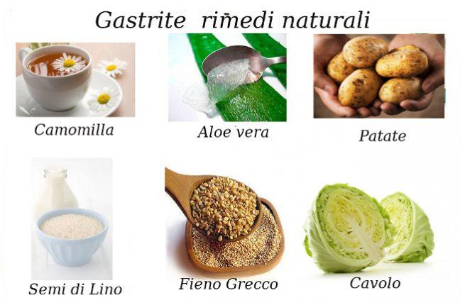 Gastrite cure e rimedi naturali