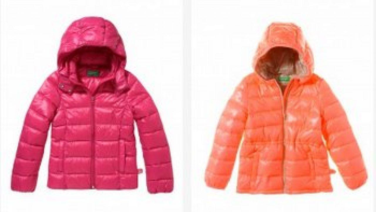 huge discount 08f1e 447ca Piumini Benetton autunno inverno 2017 per bambini - Moda ...