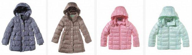 1f4e60a14a Piumini Benetton autunno inverno 2017 per bambini - Moda Bambino ...