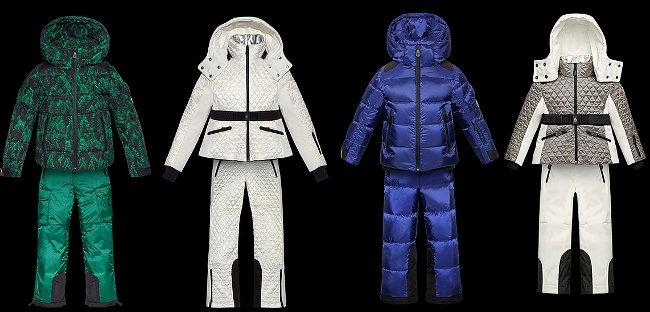 Tute sci Moncler junior autunno inverno 2014 2015