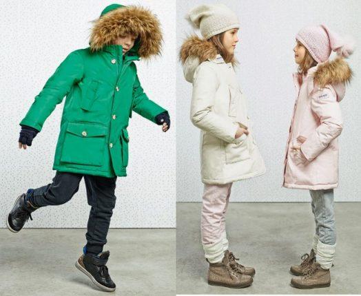 Woolrich giubbotti bambini autunno inverno 2014 2015