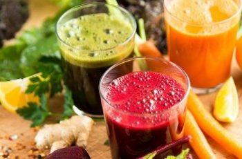 Succhi di frutta e verdura cruda