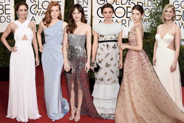 Abiti delle star ai Golden Globes 2015