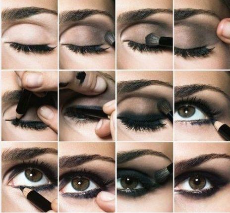 Come fare trucco occhi smokey eyes