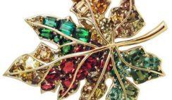 Gioielli brillanti con pietre colorate 2015