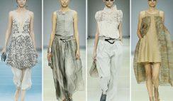 Giorgio Armani catalogo moda donna primavera estate 2015