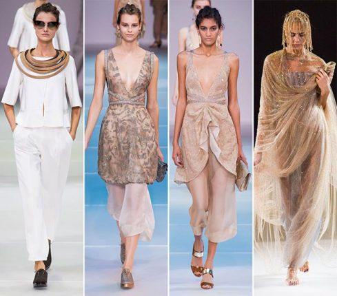 Giorgio Armani collezione primavera estate 2015