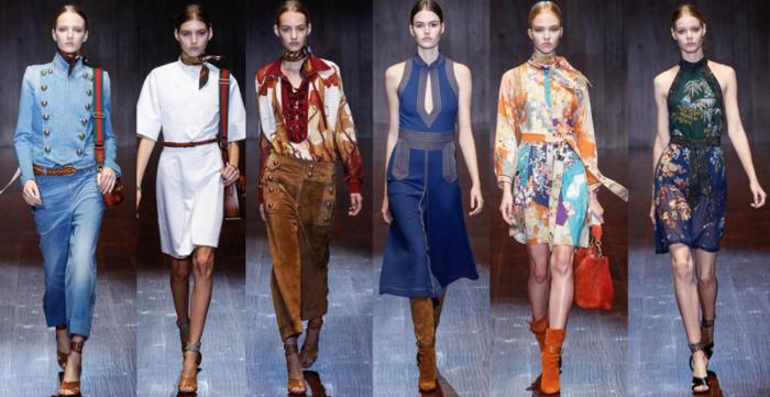 Gucci collezione primavera estate 2015
