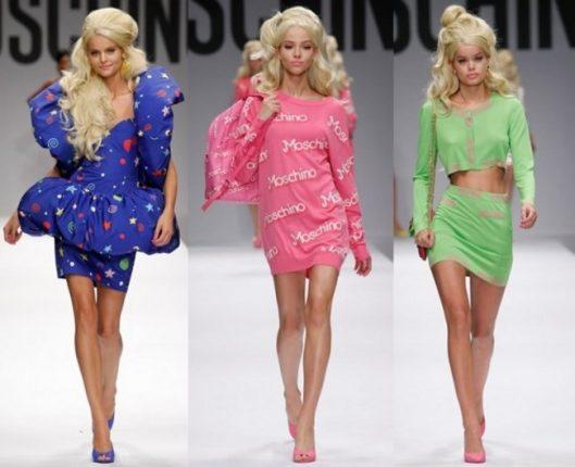 Moschino catalogo moda donna primavera estate 2015
