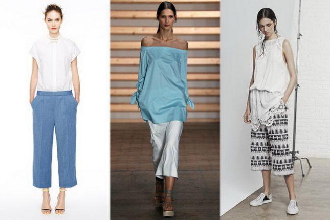 Pantaloni moda primavera estate 2015