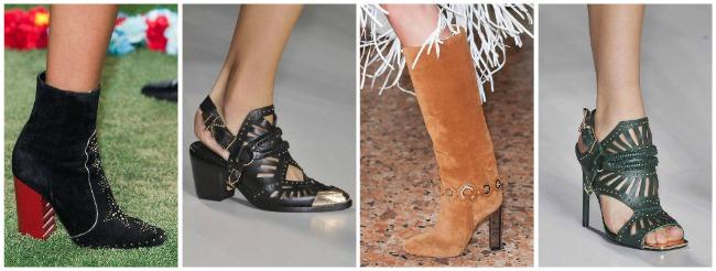 Scarpe e stivali Cowboy  primavera estate 2015
