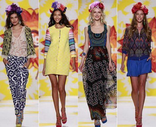 Stile etnico moda primavera estate 2015