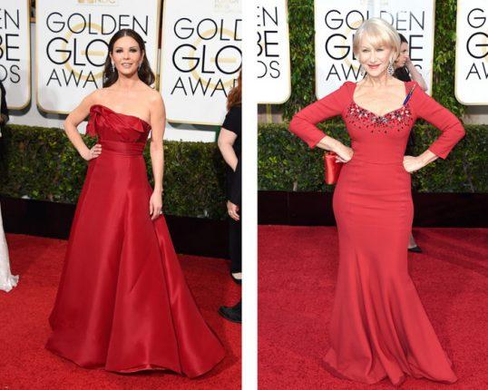 Vestiti delle star ai Golden Globes 2015
