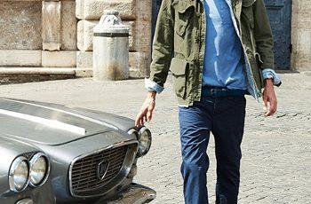 Benetton uomo nuovi arrivi primavera estate 2015