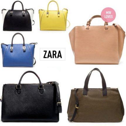 Borse Zara nuova collezione primavera estate 2015