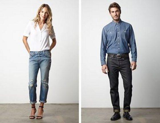 Catalogo Levis jeans 2015