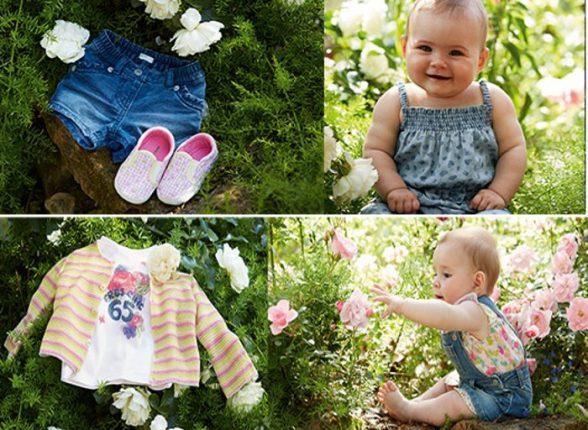Collezione bambini Benetton primavera estate 2015