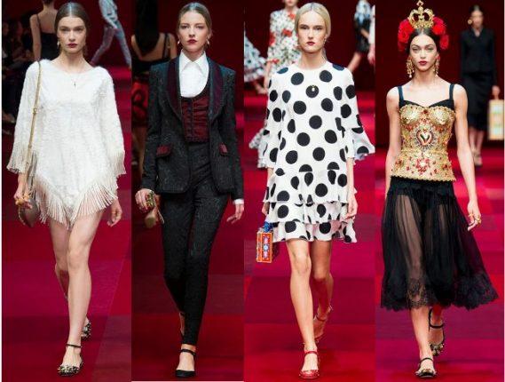 Dolce  Gabbana primavera estate 2015