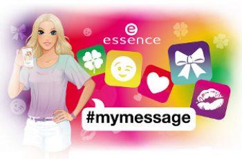 Essence mymessage profumi per le giovani ragazze