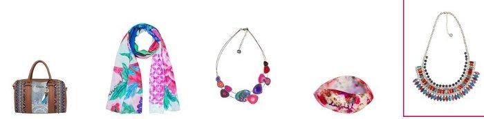 San Valentino Desigual accessori e gioielli per lei