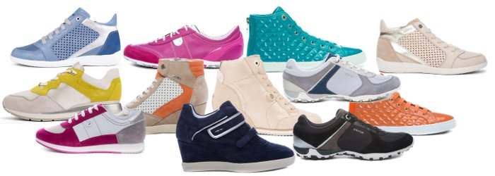 Scarpe Geox catalogo primavera estate