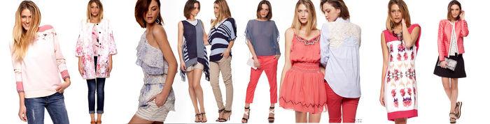 Abbigliamento Giorgia  Johns primavera estate 2015